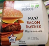 Maxi Bacon Burger micro-ondable - Product