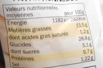 Viennois Crudités Poulet Oeuf Mayonnaise - Nutrition facts - fr