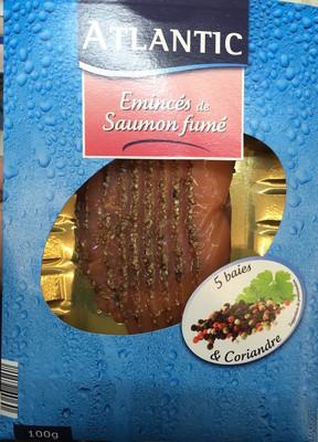 Émincés de Saumon fumé 5 baies & coriandre - 1