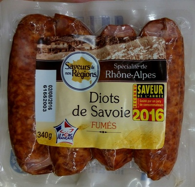 Diots de Savoie fumés - Produit - fr