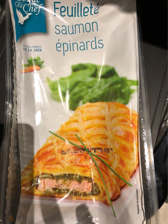 Pâte Feuilletée Garnie de Saumon - Product