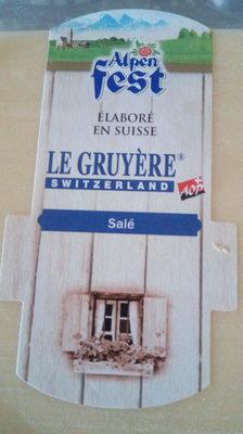 Le Gruyere Aop - Produit