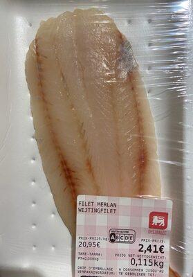 Filet de merlan - Produit - fr