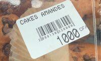 Cakes amandes - Produit - fr