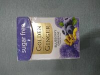 Golden Ginger SF Blueberry ginger 45 gr - Produk - en