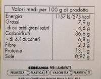 sfarinati ravioli ricotta e spinaci - Informations nutritionnelles - it