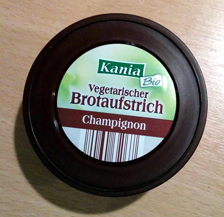 Vegetarischer Brotaufstrich Champignon - Product