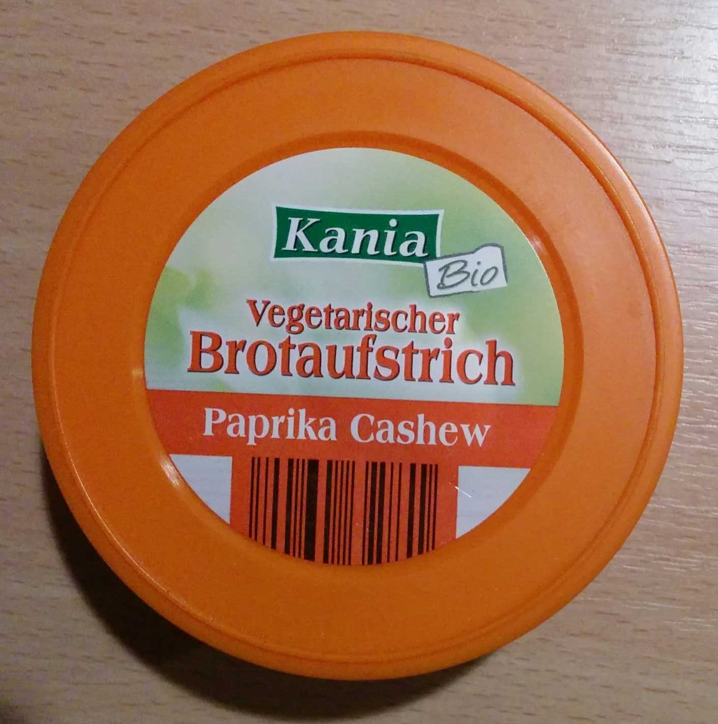 Vegetarischer Brotaufstrich Paprika Cashew - Product