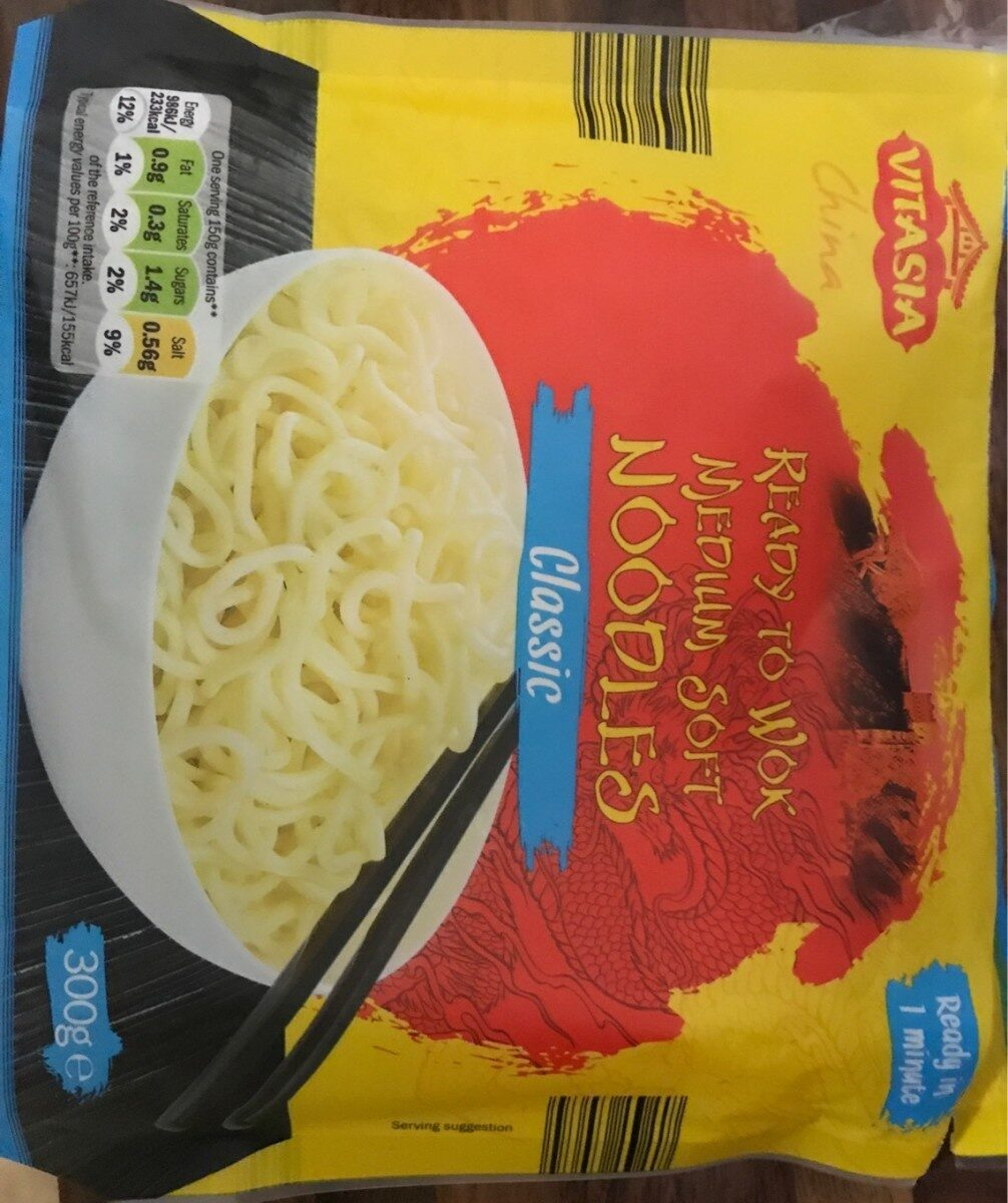 Ready to wok medium soft noodles - Classic - Product
