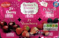 Berries & Cherries Yogurts - Product