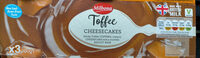 Toffee Cheesecakes - Produit - en