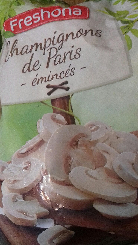Champignons de Paris émincés - Ingredients - fr