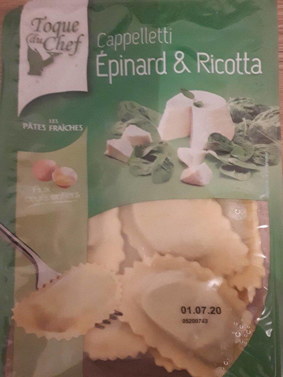 Cappelletti Epinard et ricotta - Produit - fr
