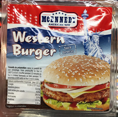 Western Burger sauce Barbecue - Produit - fr