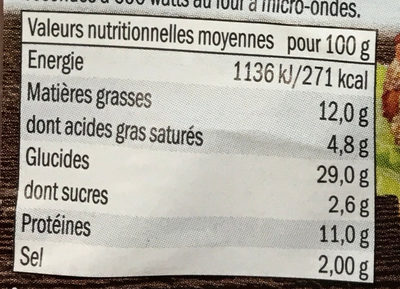 Western Burger sauce Barbecue - Informations nutritionnelles - fr