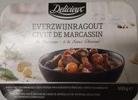 Civet de Marcassin à la sauce chasseur - Product - fr