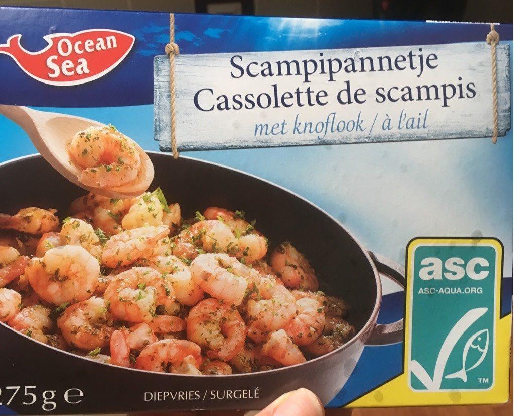 Cassolette de scampis a l'ail - Produit - fr