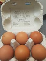 Œufs de poules en plein air - Product