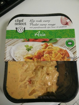 Chef Select - Poulet curry rouge - Product - fr