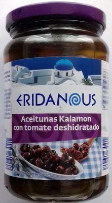 Aceitunas Kalamon con tomate deshidratado - Producte