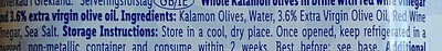 Whole Kalamon Olives - Ingredients - en