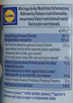 Whole Kalamon Olives - Nutrition facts - en