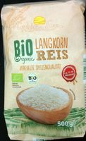 Bio Long grain Rice - Product