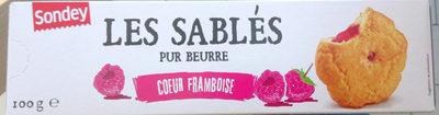 Les Sablés Pur Beurre - Cœur Framboise - Product - fr
