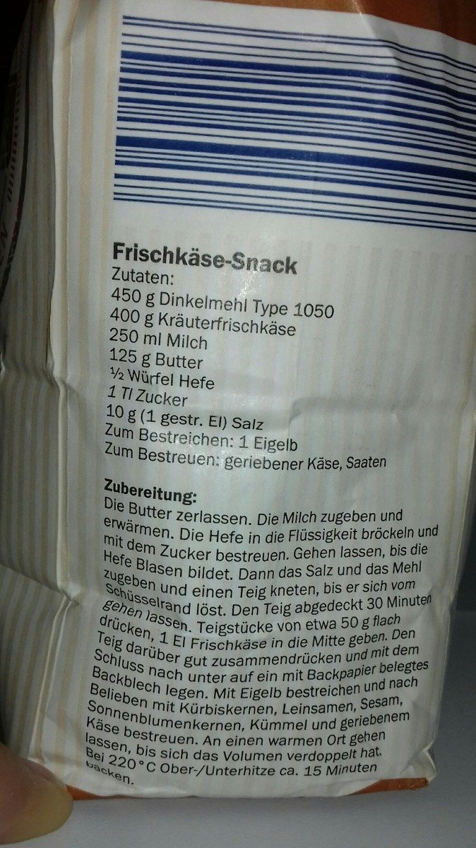 Belbake Dinkelmehl Type 1050 - Ingredients