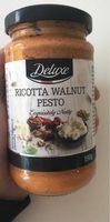 Deluxe Pesto Ricotta walnuss - Produit - fr