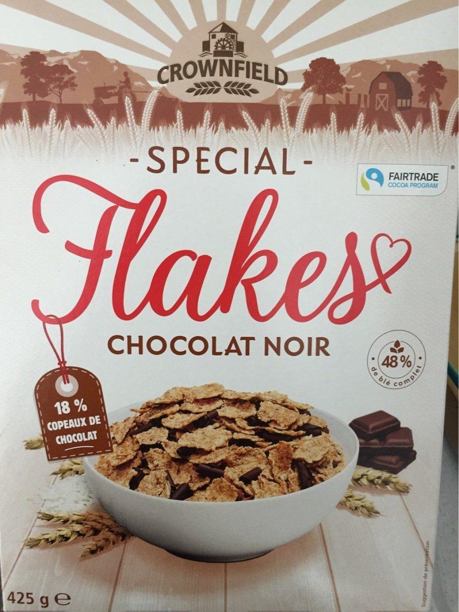 Spécial Flakes chocolat noir - Product