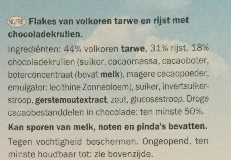 Spécial Flakes chocolat noir - Ingrediënten - nl