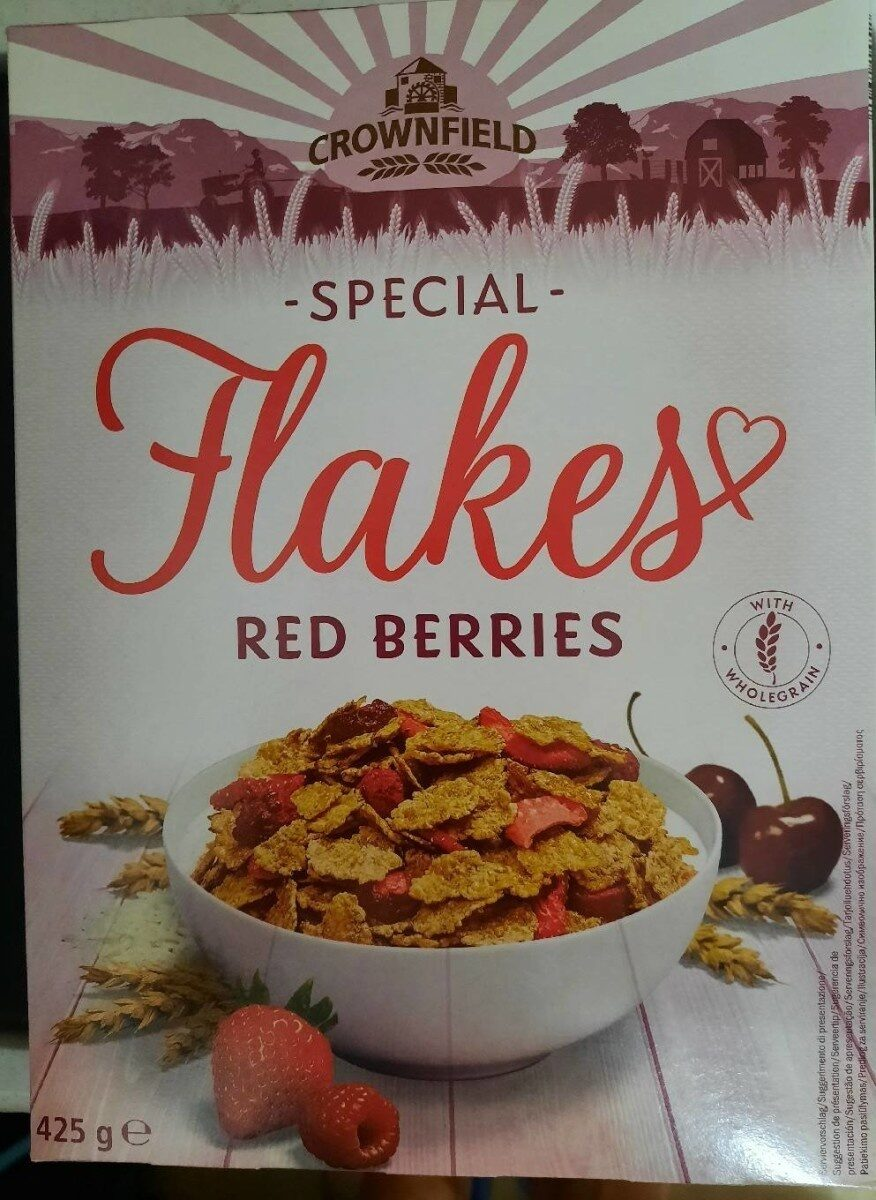 Flakes red berries - Prodotto - fr