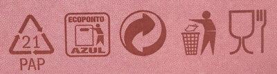 Flakes red berries - Istruzioni per il riciclaggio e/o informazioni sull'imballaggio - fr