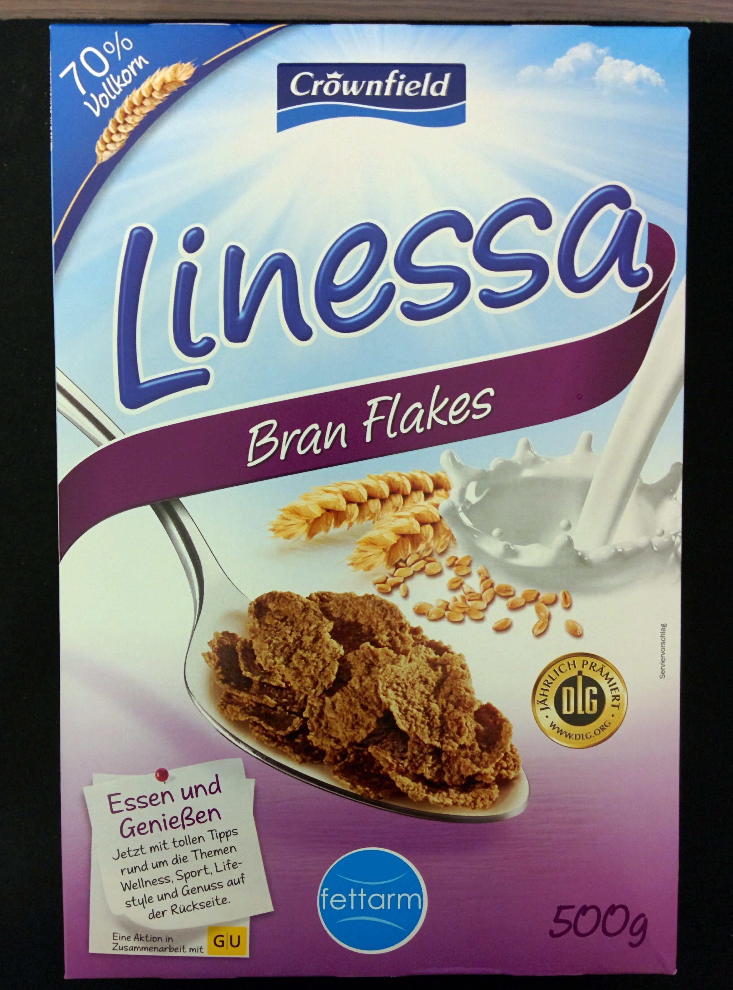 Linessa Bran Flakes - Product