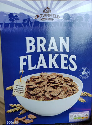 Bran flakes cereal - Product - en