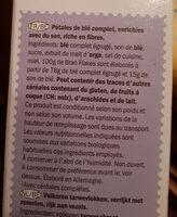 bran flakes - Ingrediënten - fr