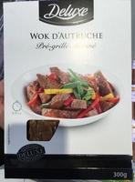 Wok d'Autruche pré-grillé mariné - Produit - fr