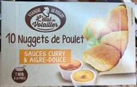 10 nuggets de poulet sauces curry & aigre-douce - Produit
