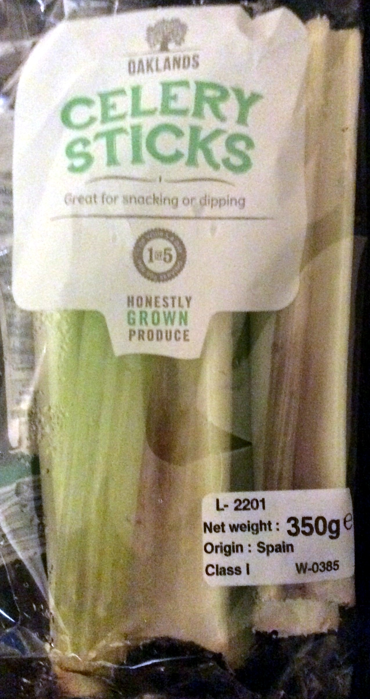 fresh celery sticks - Product