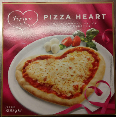 For you Pizza Heart - Produit - sv