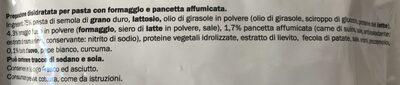 Reginelle carbonara - Ingredientes - it