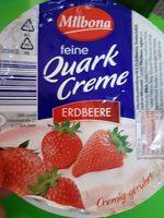 Quart Crème fraise - Produit - fr