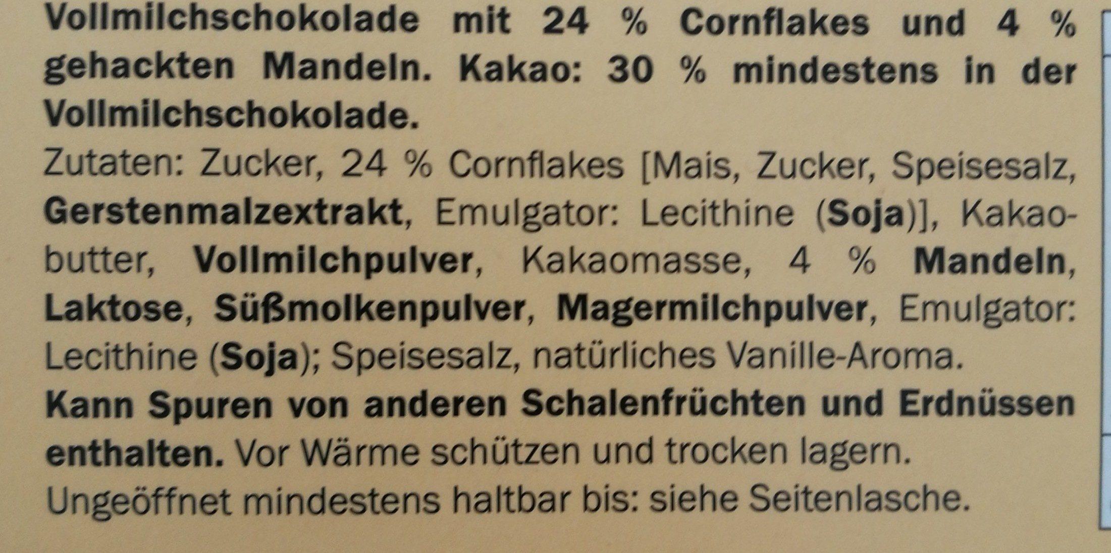 Crunchy Choc - Ingredients - de