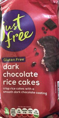 Dark Chocolate Rice Cakes - Product
