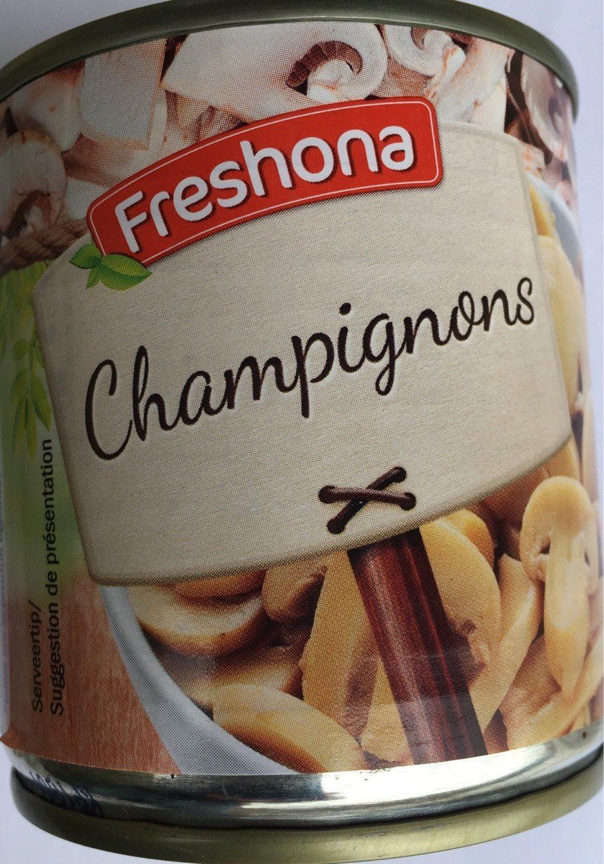 Champignons émincés - Product
