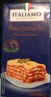 Besciamella - Béchamel Sauce - Italiamo - Product - fr
