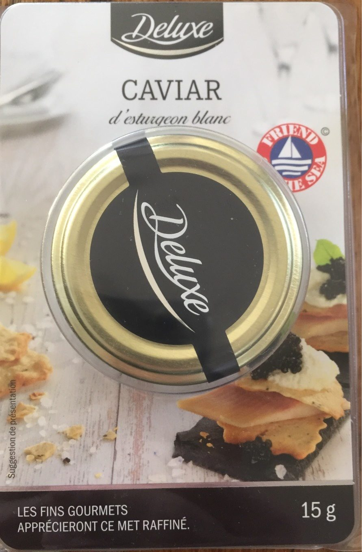 Caviar d'esturgeon blanc - Produit - fr