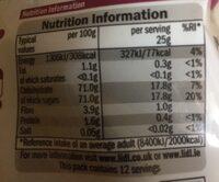 Cranberry & raisin mix - Informations nutritionnelles - en