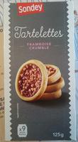 Tartelettes Framboise Crumble - Produit
